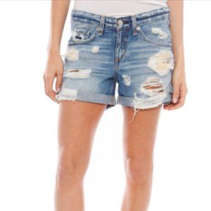 Rag & Bone Rebel Distressed Boyfriend Shorts